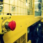 Botão de emergência para maquinas